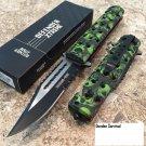"8.5"" ZOMBIE WAR GREEN & BLACK Code-Keke Cooper"