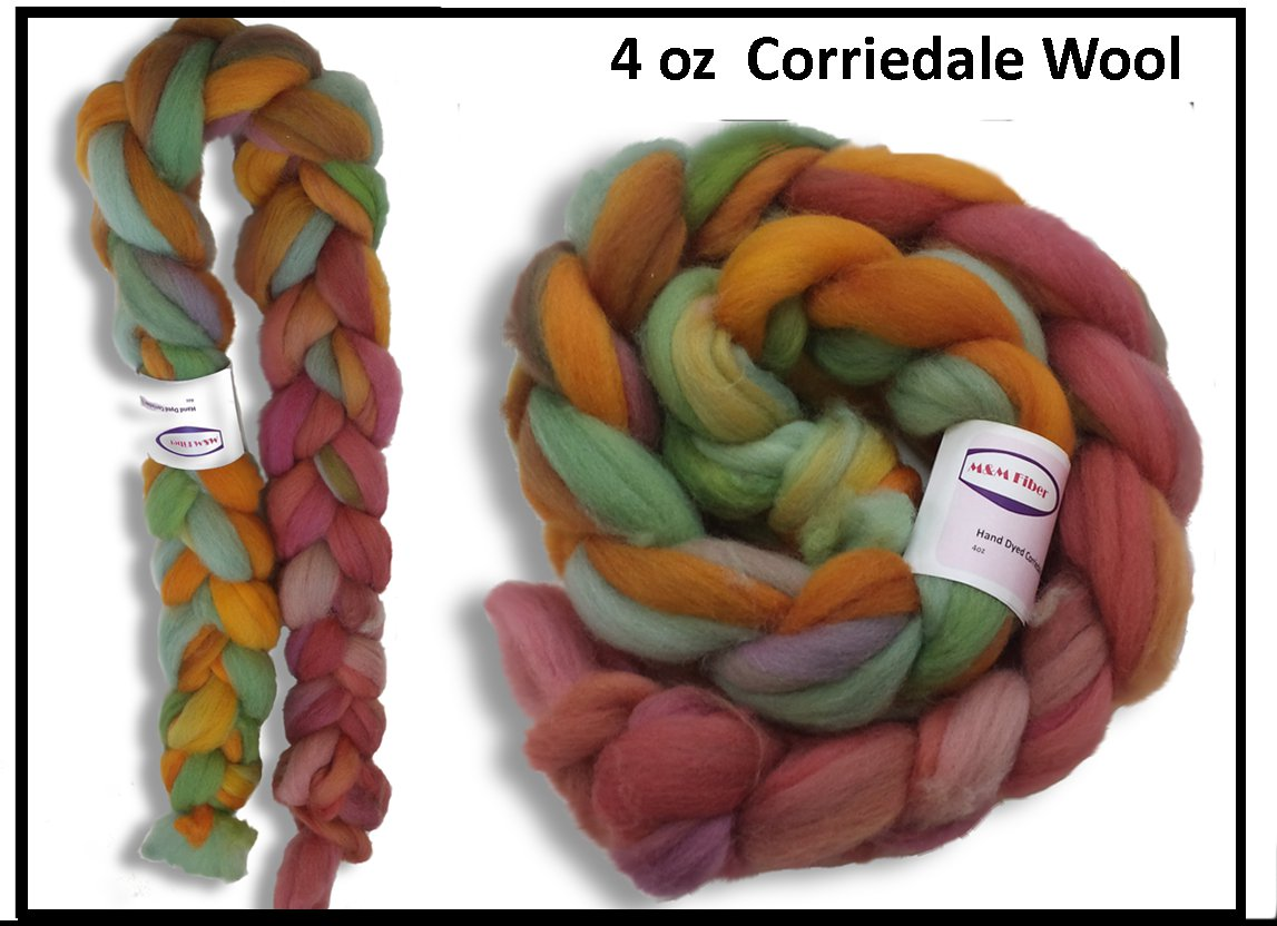 4oz Corriedale Wool