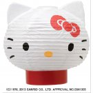 Hello Kitty LED Lantern ( Chochin) Japanese Stand Table lamp from Japan NEW