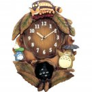 My Neighbor Totoro  Wall Clock  Studio Ghibli Japan Citizen NEW Free Shipping