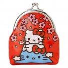 Hello Kitty mini Perth ,Coin case ,Wallet( I LOVE JAPAN Fuji )Japan Original NEW