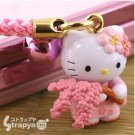 Hello Kitty WeepingCherryTree Strap for Mobile,Iphone KeychainJapan limited NEW