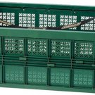 Coleman Belt Container L Color Green / Red 11gallon Cart from Japan NEW