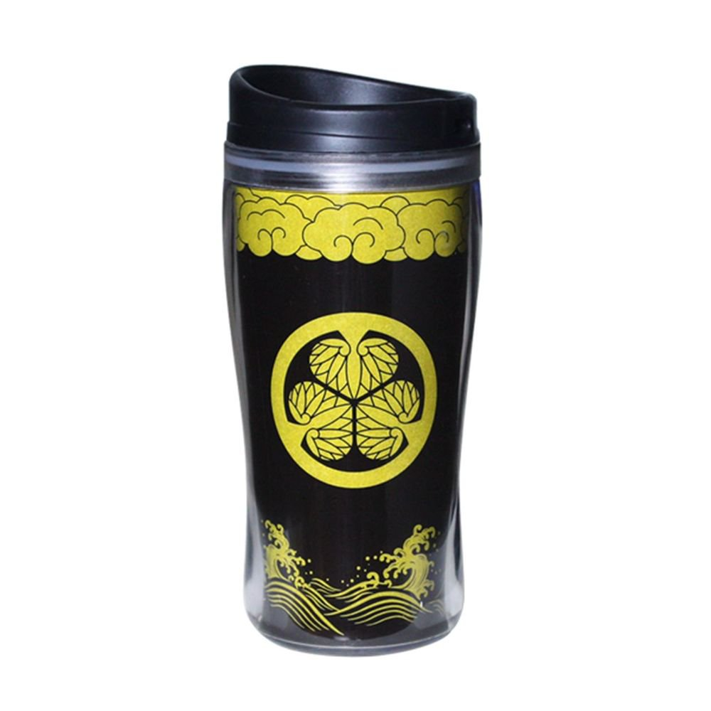 Tokugawa Ieyasu Japanese Samurai Tumbler,Mug ,Bottle for Tee,Coffee Thermos  NEW