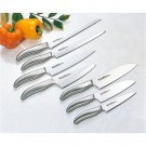 VERDUN Kitchen Knife Chef Knife Set of 7 All stainless steel NEW