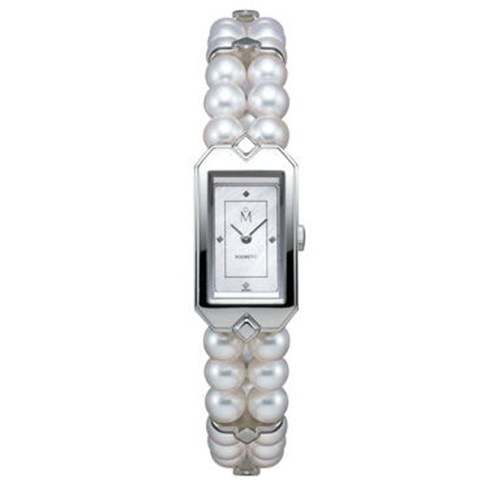 "NEW AKOYA Pearl Bracelet Watch "" White Butterfly "" from Mikimoto Japan"
