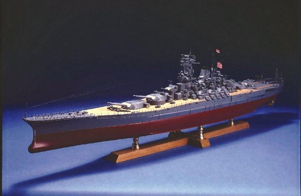 WOODY JOE BATTLESHIP YAMATO 1/250 Scale Wooden Model Kit ,Length 41inch WW.2 NEW
