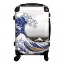 "Japanese UKIYOE Carry Bag, Travel Case"" Katsushika Hokusai ( Wave Fuji )""NEW"