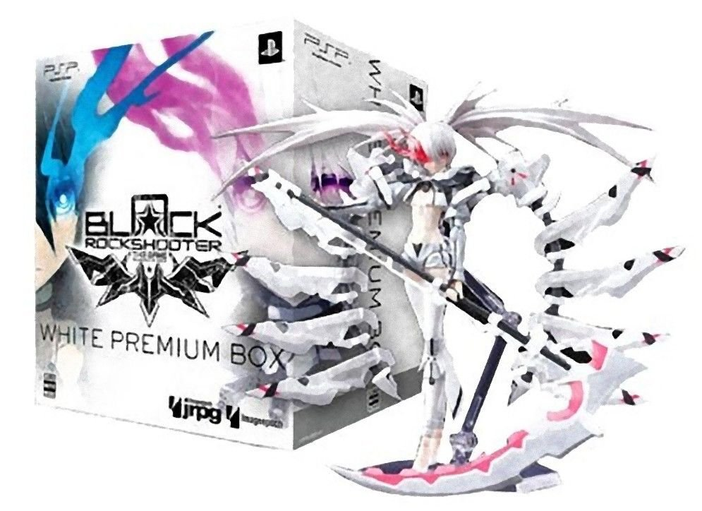 Black Rock Shooter The Game White Premium Box  PlayStation Portable, 2011 NEW