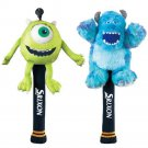 Dunlop Srixon Monsters University Head Cover Set (Mike & Sulley) Golf GGF-B0004