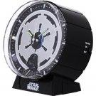 STAR WARS Darth Vader Black Alarm Clock ,Rhythm clock from Japan Brand new