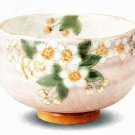 KUTANI YAKI Porcelain Bowl  SAKURA (Cherry Blossoms) Green Tea Cup Japan NEW