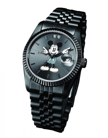 NEW Disney World Limited Wrist Watch Color Black  from Japan Free Shipping