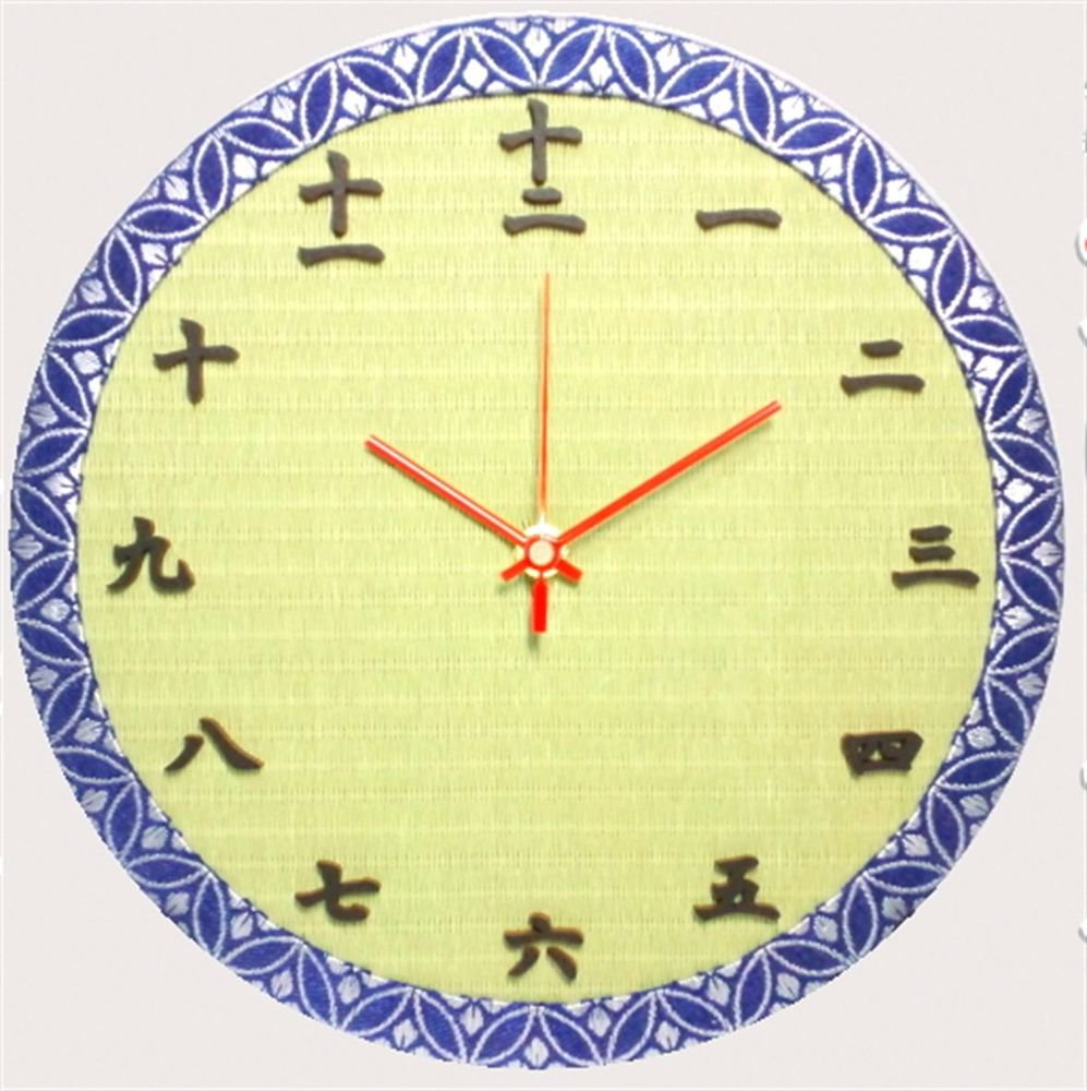 TATAMI Wall Clock Traditional Japanese Wall Clock  from Japan Free Shipping NEW