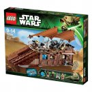 STAR WARS LEGO Jabba's Sale Barge TM 75020 From Japan ,WW2, Brand New