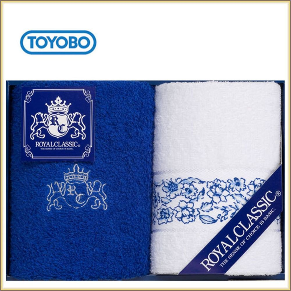TOYOBO High Quality Brand Toyobo Face Towel & Wash Towel Set,Gift from Japan NEW