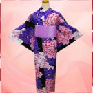 Japanese Yukata Set  for Women's Kimono Dress from Japan New  Free shipping