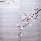 "NOREN"" Cherry tree & Sprout "" Japanese Traditional Curtain, Doorway NEW"