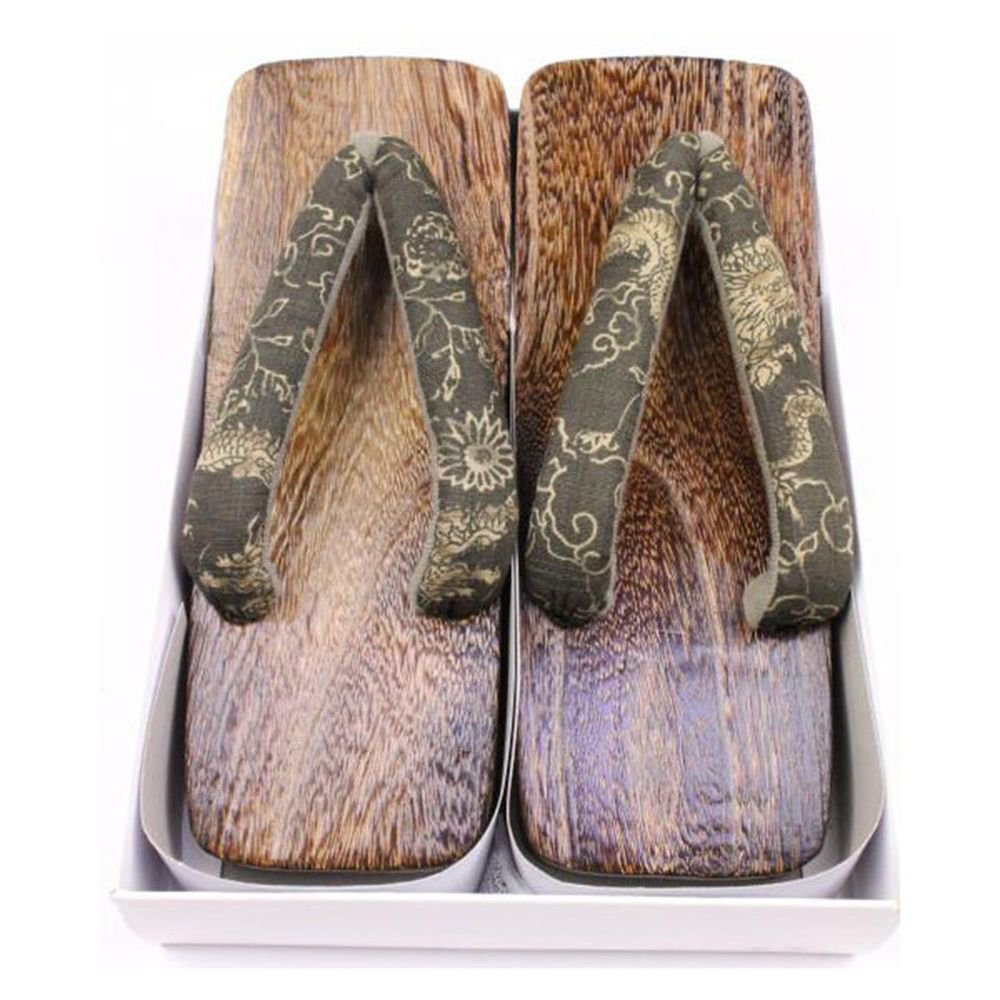 Geta Setta Kimono Sandals Shoes MAN'S big size length 26cm US 8-9 inch Japan NEW