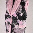 Women's Kimono pattern Hanten Jacket,Coat,Vest, Poncho Room Wear M-L NEW
