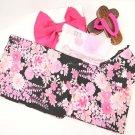 Maiko Yukata set,10Item set Pink Flower Kimono from Japan NEW Free Shipping