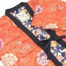 Japanese Hanten, Short Coat of Kimono Pattern Room Wear Robe Kyoto New f/s