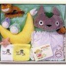 TOTORO Baby Gift set Music Box Diaper cake JAPAN STUDIO GHIBLI Pillow,Rattle F/S