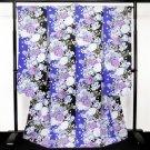 Maiko Japanese Furisode-Kimono Set Blue x Light blue Yukata LobeRegular M NEWF/S