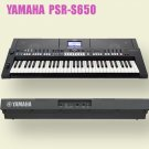 YAMAHA Electronic Keyboard PORTATONE PSR-S650 from Japan NEW keyboard number 61