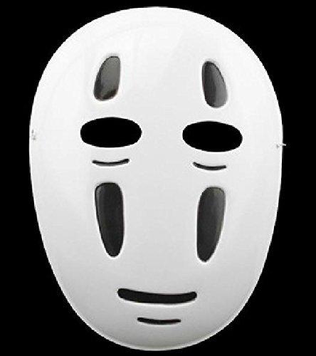 Spirited Away Ghibli Mask Costume Omen Kaonashi Sentochihiro Halloween NEWF/S