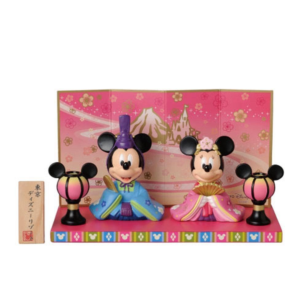 2015 Hina dolls Mickey & Minnie Tokyo Disney Resort limited NEW F/S
