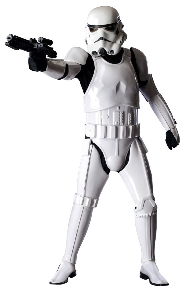 Best Offer! Star Wars Stormtrooper Armor Costume Suit set Ready to Wear! NEW F/S