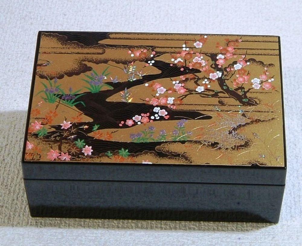Maiko Geisha Petit Make up case for Oshiroi Kabuki Skin Care Kimono Japan F/S