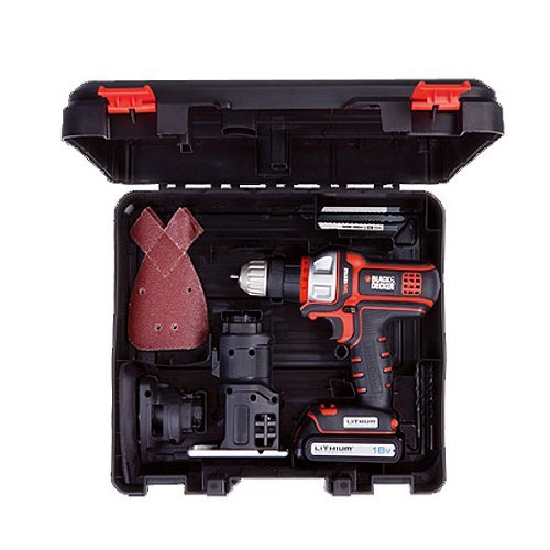 New Black and Decker 18V Drill Sander Jigsaw EVO183 Multi Tool Japan
