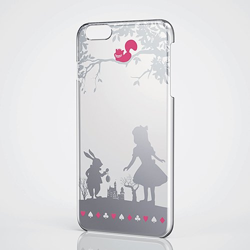 New Disney Alice iPhone6 Plus iphone clear hard case cover Japan