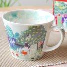 Moomin Valley Soup Mug Cup Yamaka Watercolor The Moomins From Japan