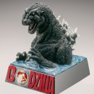 Godzilla Birth 60th Anniversary Silver Coin Proof Deluxe Figure Special Set NEW