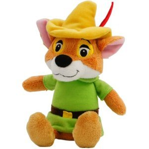 New Disney Beans Collection Robin Hood Plush 110th Anniversary of Walt Japan
