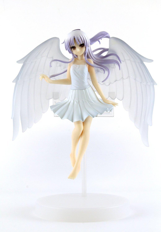 NEW Angel Beats Japan Anime PVC Figure Kanade Tachibana Angel 3 JP Limited Rare