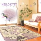 Hello Kitty Cherry blossom Rush grass Lag Tatami Carpet Mat Japan NEW SANRIO