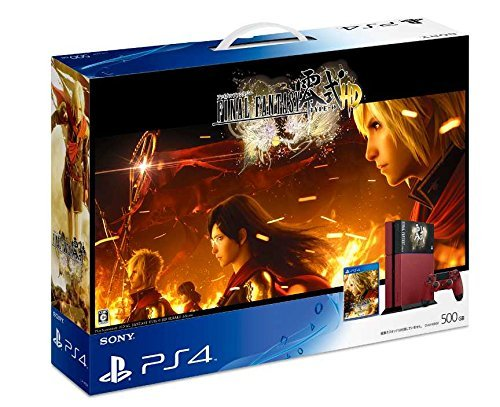 PlayStation 4 FINAL FANTASY Type-0 HD Suzaku Edition PS4 NEW Japangame Conso�eFS