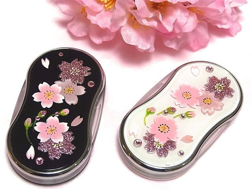 Handmade Cherry Blossom LED Slide Loupe,Lens,Magnifying glass from Japan NEW