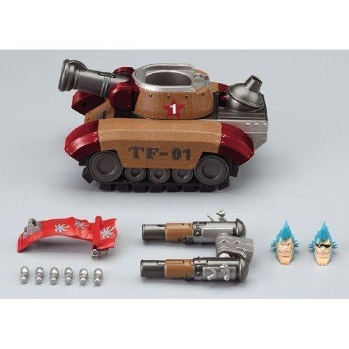 Bandai Chogokin Cyborg Franky Tank Option Set (ONE PIECE) scale PVC Figure Anime