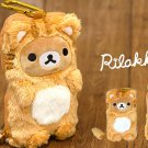 Very Rare! Rilakkuma Plush doll Stuffed toy Smartphone Pouch Case San-X JapanF/S