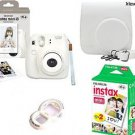 Instax Mini 8 Camera Complete set Instant Camera + 20 Film+ Case + Lens Fujifilm