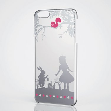 Disney Alice iPhone6 Plus Shell Cover Apple texture Case Alice in Wonderland F/S