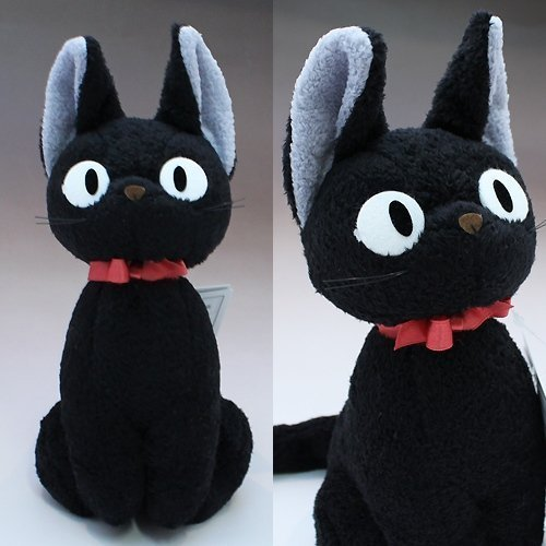 Stuffed M Doll Gigi black cat�Kiki's Delivery Service Studio Ghibli�Japan