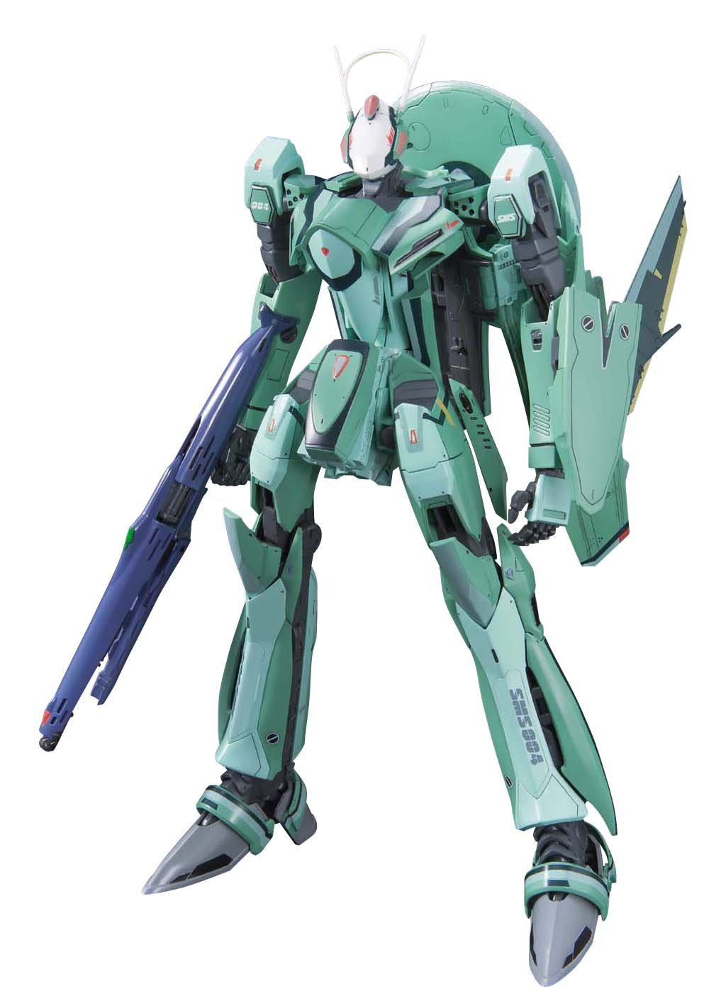New Bandai Macross Messiah Valkyrie Luca with Ghost 1/72 scale Kit from Japan