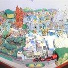 USA Disneyana My Disneyland No Outer box Diorama Model Set Miniature DeAGOSTINI