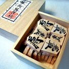 NEW NINTENDO JAPANESE SHOGI Wood Koma Game, Chess of Japan Good press 2009 F/S
